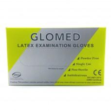 Glomed Latex Examination Gloves 1 box - Small
