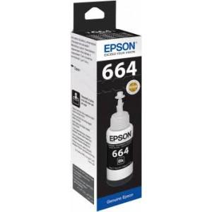 Ink Epson T664 Black (Genuine)