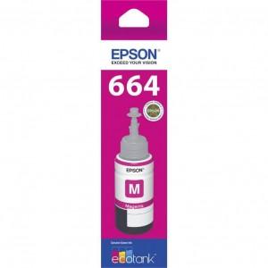 Ink Epson T664 Magenta (Genuine)