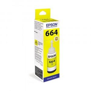 Ink Epson T664 Yellow (Genuine)