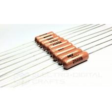Precision Resistor 250 Ohms 1/2 Watt Metal Film +/-0.1% Tolerance (TH)