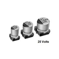 10uf/25v SMD Electrolytic Capacitor