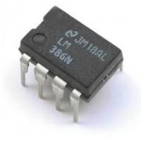 LM386M-1 Audio Amplifier IC (DIP-8)