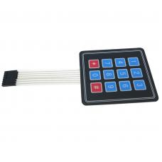 Numeric Keypad Membrane 3x4