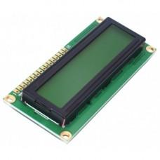 *LCD display module HD44780 controller 16x2 yellow green screen back light