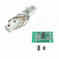 5Kg Load Cell Weight Sensor w/ HX711 module