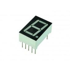 "LA8011 7-Segment LED Display Single Common Anode 3/4""x1 1/8"""